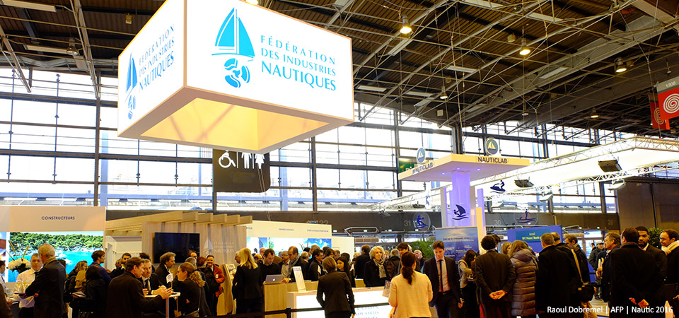 F d ration des industries nautiques for Salon nautique nantes